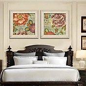 Carpet of Flowers Framed Canvas Print Set of ... – AUD $ 112.15