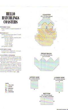 HATCHLING COASTERS 2/2