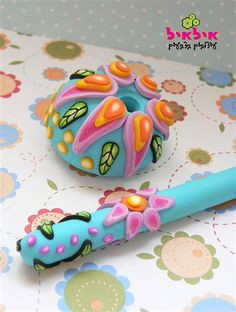 Polymer clay pen | Flickr - Photo Sharing!