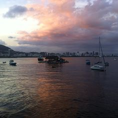 #Sunset in #rio #Brazil #Urca