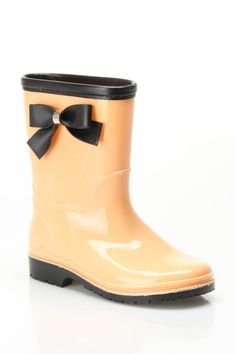 Girls Bow Rainboots