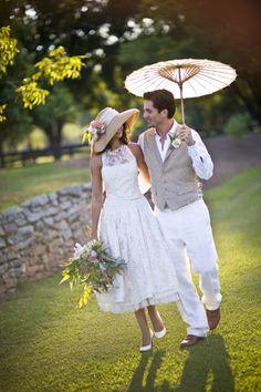 brides in hats