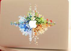 macbook pro vinyl sticker decal macbook pro decal/ by MixedDecal