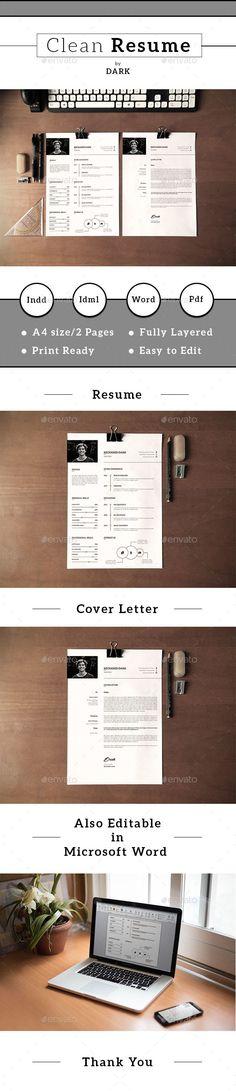 Resume/CV-V19 - #Resumes Stationery Download here: https://graphicriver.net/item/resumecvv19/19546643?ref=alena994