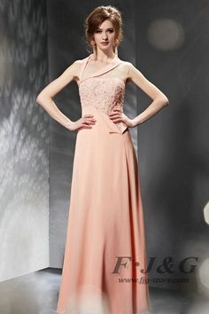 2014 Pink Appliques Beading Halter Prom Dress 30666