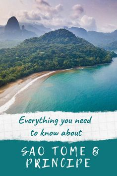 Everything you need to know to plan a Sao Tome and Principe holiday including travel information what to see on the islands and the best time to visit Sao Tome and Principe Places To Travel, Travel Destinations, Places To Go, Travel Guides, Travel Tips, Travel Plan, Travel Abroad, South America Travel, North America