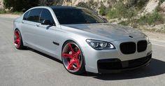 Aspiring To Become A Batman Villain? Check Out This F02 BMW 7-Series #BMW #BMW_7_Series