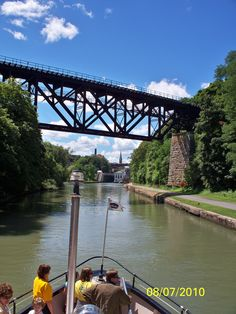 along the Erie Canal, Lockport, NY
