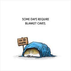Blanket Cave Mini Print