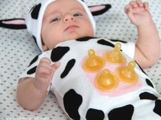 Baby Halloween Costumes: DIY Inspiration (For Every Skill Level) Looking for the best baby Halloween costumes this season? Here, shop the top Halloween outfits for baby girls and boys, from the super-cute to the frightfully funny. Cute Baby Halloween Costumes, Homemade Halloween Costumes, Halloween Outfits, Diy Baby Costumes For Girls, Diy Toddler Halloween Costumes, Funny Baby Costumes, Original Halloween Costumes, Costumes Kids, Halloween Parties