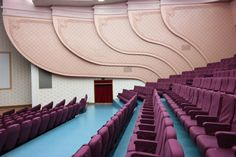 North Korean interiors, built mostly in the — like a Wes Anderson film, no? Photos by Oliver Wainwright, The Guardian's architecture critic Bar Da Esquina, Accidental Wes Anderson, Inside North Korea, Art Nouveau Arquitectura, Wes Anderson Movies, Location Scout, Moonrise Kingdom, Style Deco, Auditorium