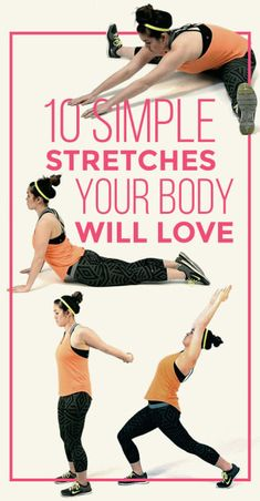10 Amazing Stretches That Feel SO Good