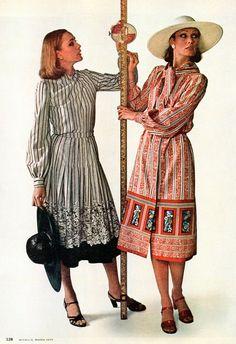 McCall's - March, 1977 1977 Fashion, March, Mac
