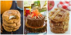 Enjoy the comfort of fall all season with these easy dessert recipes.