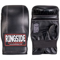 The Ringside Adults' Econo Bag Gloves feature synthetic leather material and a slip-on, oven-mitt design. Mma Gloves, Boxing Gloves, Leather Gloves, Leather Bag, Kickboxing Bag, Mma Training Gloves, Boxing Punching Bag, Sparring Gloves, Workout Gear