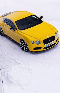 Bentley Continental - I like to pay homage to the Yellow taxis of the world and other cars that happen to be yellow ! https://www.youtube.com/watch?v=jdNjqN_7tXs