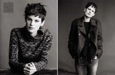 Saskia De Brauw for Vogue Italia June 2013