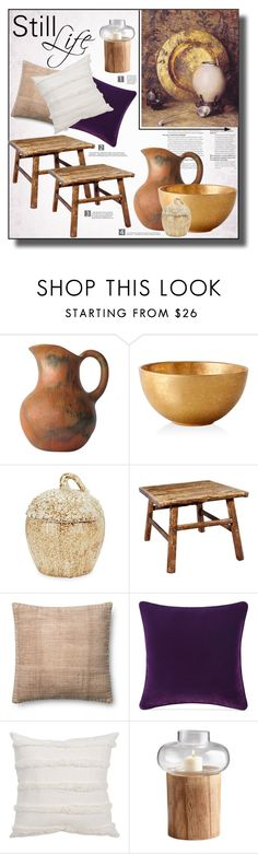 """Still Life Painting"" by suzanne228 ❤ liked on Polyvore featuring interior, interiors, interior design, home, home decor, interior decorating, 1901, L'Objet, Two's Company and Antique Revival"