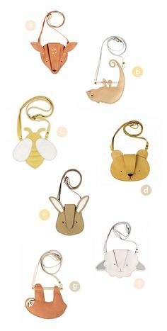 Adorable Bags from Donsje
