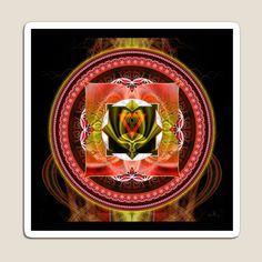 ecoartopia Shop | Redbubble Zen Meditation, Chakra Meditation, Chakra Healing, Muladhara Chakra, Reiki, Chakra Raiz, Art Visionnaire, Les Chakras, Sacred Geometry Art