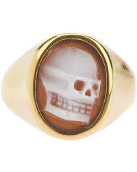 Iosselliani | Skull Cameo Ring | Lyst