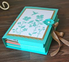 Julie's Japes - A Top Independent Stampin' Up! Demonstrator in the UK: Wildflower Meadow Card Keeper