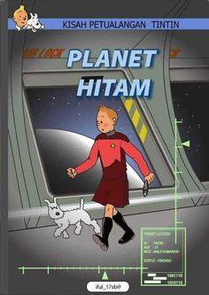 Les Aventures de Tintin - Album Imaginaire - Planet Hitam