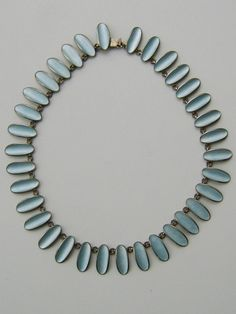 Einar Modahl Norway Silver & Enamel Necklace