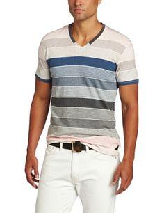 J.C. Rags Men's Mulit Color Stripe Shirt