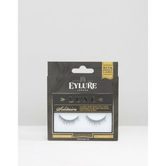 Eylure The Luxe Collection False Lashes (46 ILS) ❤ liked on Polyvore featuring beauty products, makeup, eye makeup, false eyelashes, black, eylure and eylure false eyelashes