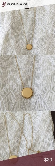 Madewell Gold Necklace Brand new with tags. Madewell gold necklace. Madewell Jewelry Necklaces