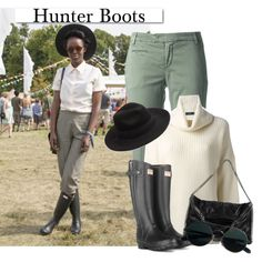 Hunters Boots by clotheshawg on Polyvore featuring Polo Ralph Lauren, Jacob Cohёn, STELLA McCARTNEY, SELECTED, Hunter, rag & bone and White Label