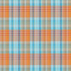 Checks July 1 - Baumwolle - Polyester - Elasthan - orange