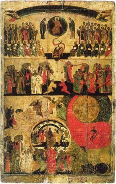 Lenten Evangelism The Last Judgment — Fr. Byzantine Icons, Byzantine Art, Religious Icons, Religious Art, Religious Images, St Mary Of Egypt, The Last Judgment, Historical Art, Orthodox Icons