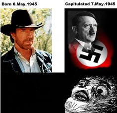 The ultimate Chuck Norris joke. Wtf Funny, Funny Cute, Funny Jokes, Hilarious, Funny Images, Funny Photos, Chuck Norris Memes, Matou, Everything