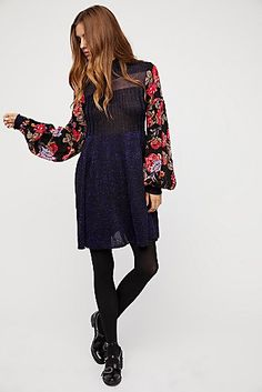 Rose And Shine Sweater Dress