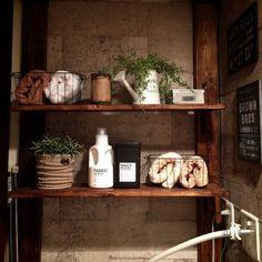 miwaさんの、バス/トイレ,DIY,3Coins,カフェ風インテリア,冬仕様,いつもいいねありがとうございます♡,男前インテリア,お部屋改造中,ディアウォール DIY,インスタID→11miwa26,のお部屋写真