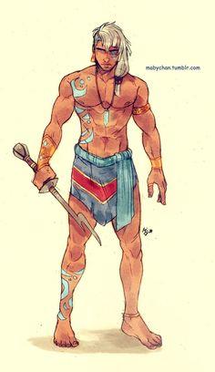 Kida, Atlantis the lost empire genderbend by mabychan
