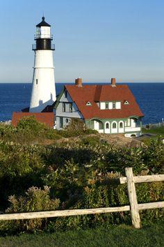 Portland Head Lighthouse, Maine.