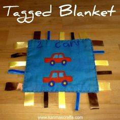 tagged blanket tutorial