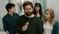 Zach Galifianakis, Emma Roberts, and Keir Gilchrist in It's Kind of a Funny Story Good Comedy Movies, Best Movies List, Teen Movies, Hd Movies, Movie Tv, Cinema Movies, Watch Movies, Movies Online, Aamir Khan