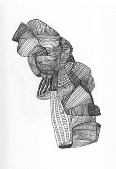 Contemporary drawing Olivier Umecker