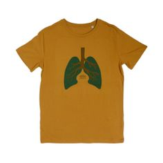 Tree Lungs Sudan Brown Men T-shirt