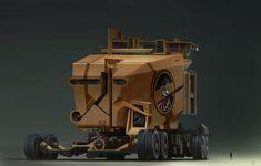 Giant Scifi Vehicle by dannygardner on DeviantArt