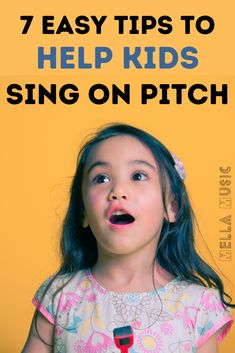 Help Kids Sing On Pitch