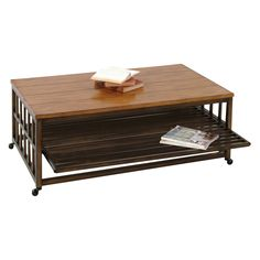 Have to have it. Progressive Furniture Rectangular Cocktail Table - Birch Solids and Veneers $209.99