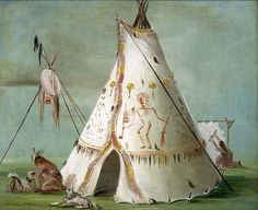 Crow Tipi or Lodge- George Catlin.jpg