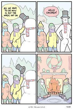 Funniest Memes - [the snow man]