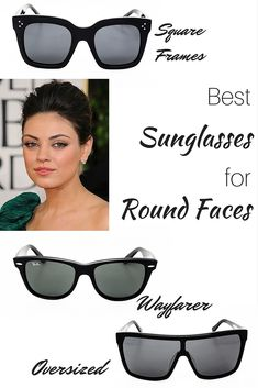 b7a15db44a The Best Sunglasses Styles for Round Faces