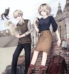 Cute Anime Character, Character Art, Anime Couples, Cute Couples, Drakengard Nier, Neir Automata, Mysterious Girl, Cute Anime Coupes, Art Folder